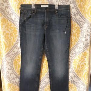 Levi's 505 Jean's straight leg size 14